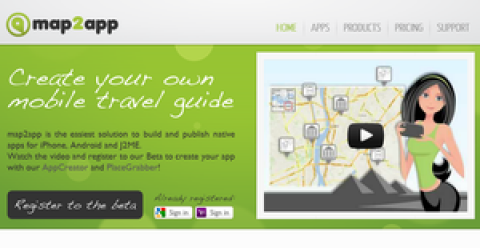 Blogging assignment: Create your mobile travel guide with map2app for iPhone and Android and get paid each month!