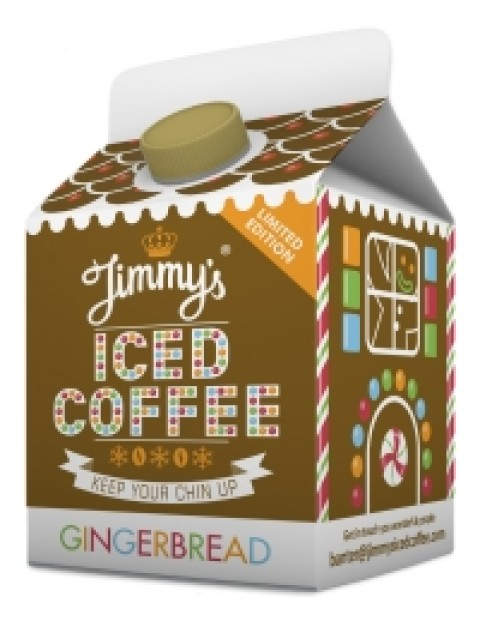 Blogging assignment: UK Bloggers wanted to review and test Jimmy's new GINGERBREAD Iced Coffee!