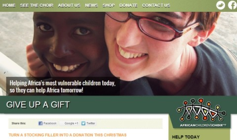 Blogging Assignment: Want to help Africa's most vulnerable children, whilst also teaching your own children the importance of giving this Christmas?