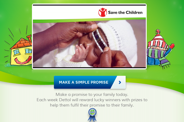 Blogging Assignment: Simple Promises Campaign promotes family time, support Save the Children and rewards lucky promise makers with prizes