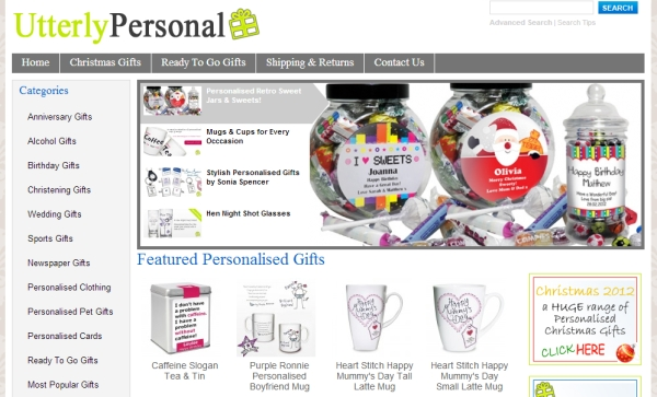 Blogging assignment: Personalised Gift Reviews