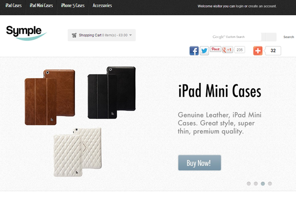 Blogger outreach assignment: UK tech bloggers to review ipad / ipad mini / iPhone cases