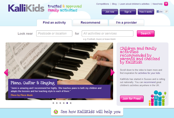 Blogger outreach assignment: KalliKids hits the South East