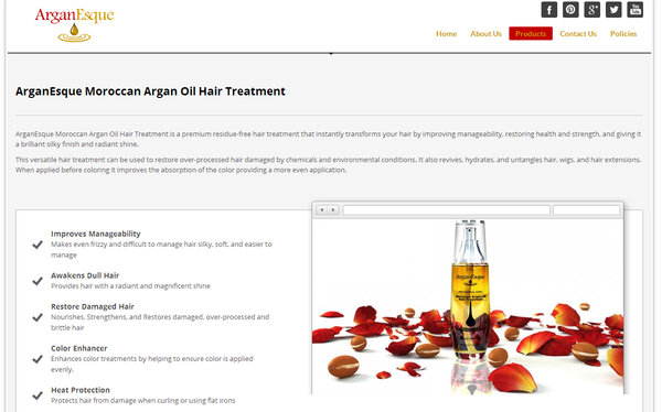 Blogging assignment: Video Reviews: Influential Beauty Bloggers Sought for Video Review of Hot New Moroccan Argan Oil Hair Treatment