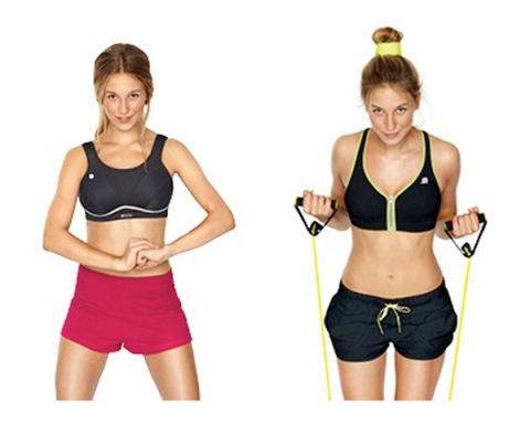 Blogging assignment: The UK's leading sports bra brand is looking for UK health and fitness bloggers to review either the D+ or Zip Plunge bra