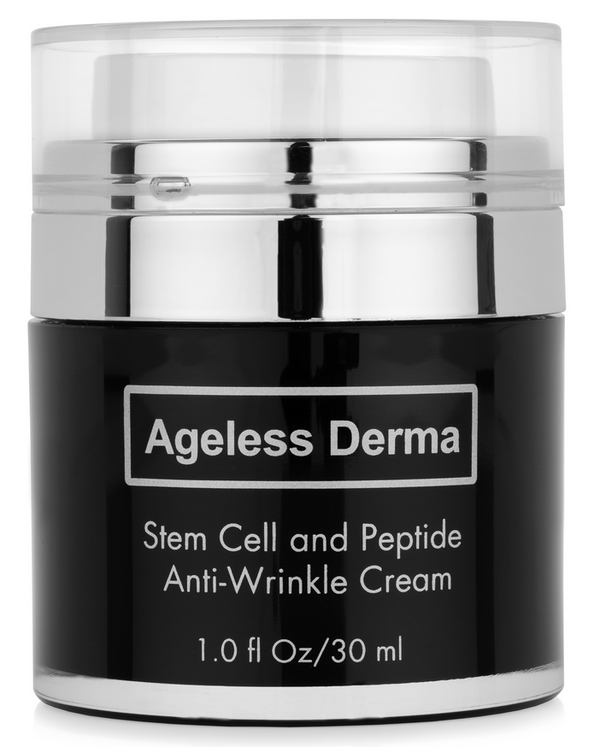Blogger outreach assignment: Review a Full size Ageless Derma Stem Cell and Peptide Anti Wrinkle Cream
