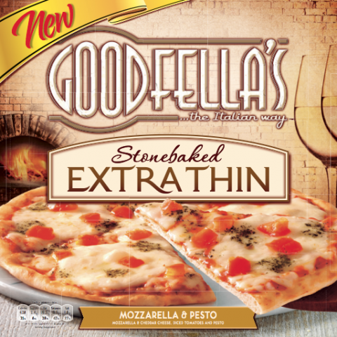 Blogging assignment: The Perfect Night In with Goodfella's Extra Thin