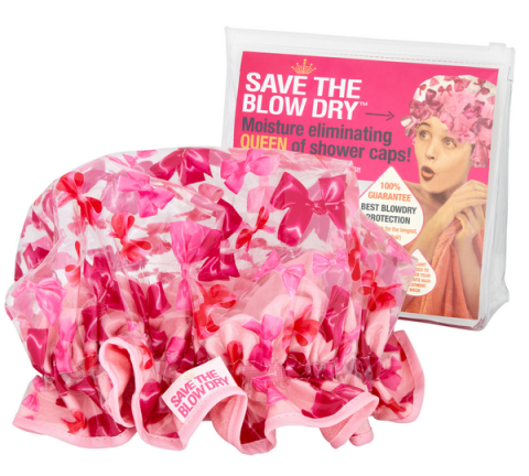 Blogging assignment: (US & Canadian bloggers) Save the Blow Dry – QUEEN of Shower Caps! – Review opportunity