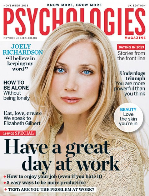 Blogging assignment: Review the revamped Psychologies Magazine – (Dec issue, out 1st Nov)