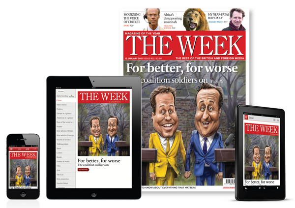 Blogging assignment: The Week - we want you to review magazine, The Week and then .... you can offer every single one of your readers a copy for free!