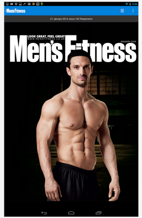 Blogging assignment: Men's Fitness App Review