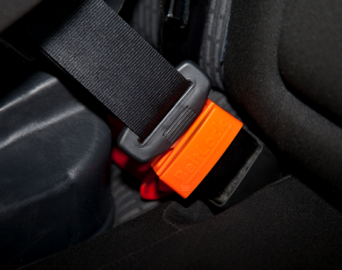 Blogging assignment: Beltlock: Keep kids from opening the seatbelt securing the car seat