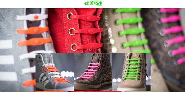"""Blogger outreach assignment: Brand new product """"Shoeps"""" elastic laces for footwear needs your help!"""