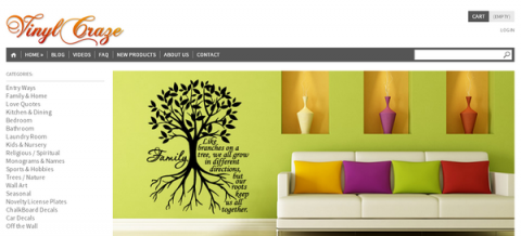 Blogging assignment: (US bloggers) Vinyl Wall Lettering Home Decor – Trendy Wall Quotes