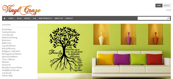 Blogging assignment: (US bloggers) Vinyl Wall Lettering Home Decor - Trendy Wall Quotes