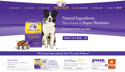 Blogging assignment: Dog loving bloggers in the US and Canada needed to spread the word about Wellness Natural Pet Food