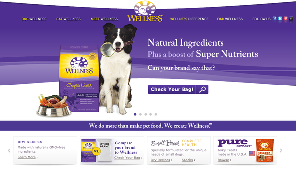 Blogger outreach assignment: Dog loving bloggers in the US and Canada needed to spread the word about Wellness Natural Pet Food