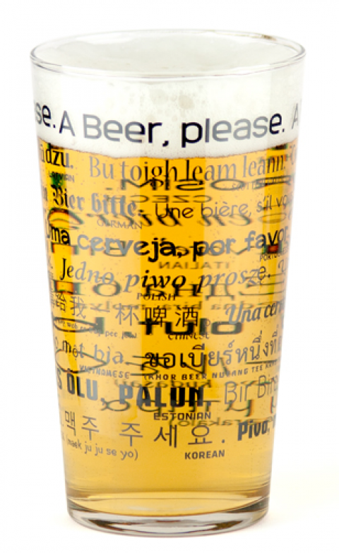 Blogging assignment: Review a quirky beer glass – FREE BEER!
