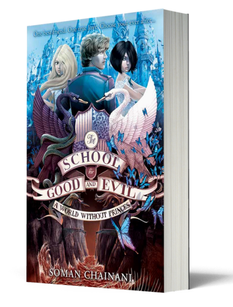 Blogging assignment: The School For Good and Evil. A new children's book