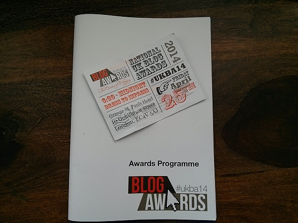 Award invitation and booklet