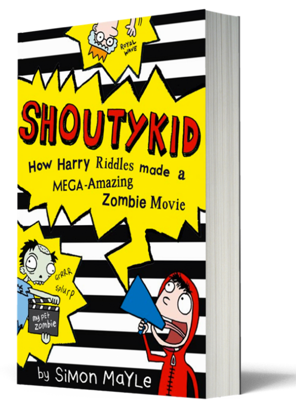 Blogging assignment: ShoutyKid - A childrens book review and competition