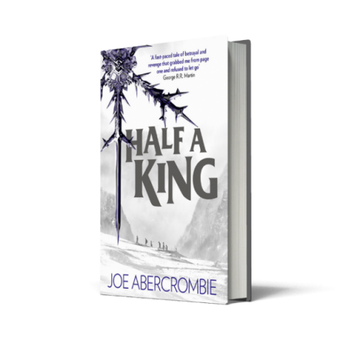 Blogging assignment: Young bloggers needed to review new book – Half a King by Joe Abercrombie, for ages 15 plus