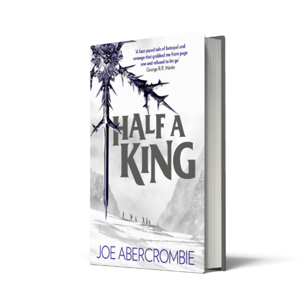 Blogging assignment: Young bloggers needed to review new book - Half a King by Joe Abercrombie, for ages 15 plus.