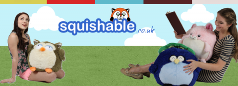 Blogging assignment: Product Review: Squishable – they're giant round fuzzy stuffed animals!