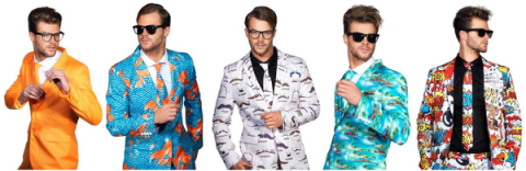 Blogging assignment: Fancy Dress or Fashion? UK Bloggers Required For Funny Suit Reviews