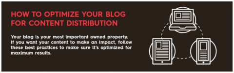 Infographic – Tips on how to get your blog post shared