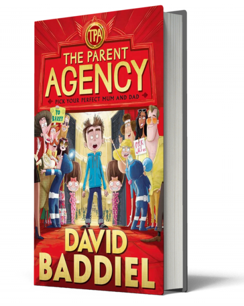 Blogging assignment: Book review and competition – David Baddiel – The Parent Agency  (UK bloggers)