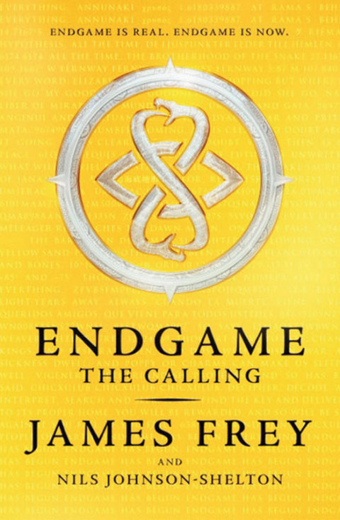 Blogging assignment: AMAZING book review and competitions – Endgame by James Frey (UK bloggers)