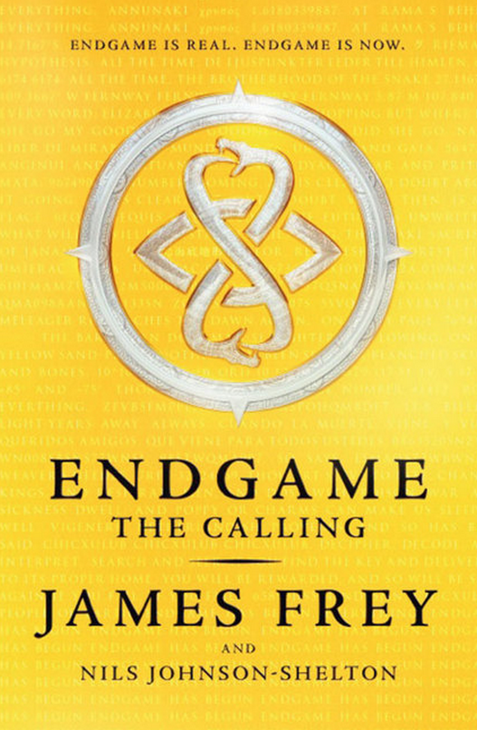 Blogging assignment: AMAZING book review and competitions - Endgame by James Frey (UK bloggers)