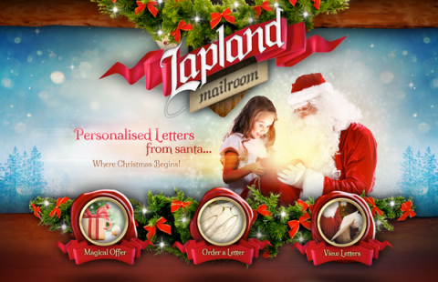 Blogging assignment: Personalised Letter from SANTA for FREE from Lapland Mailroom (UK bloggers)