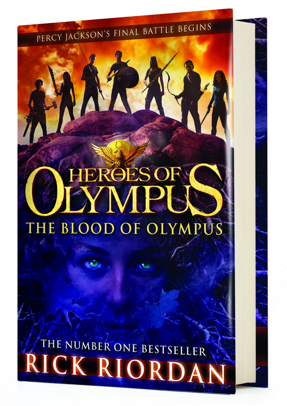 Blogging assignment: Book review and / or competition - The Blood of Olympus - the latest from The Heroes of Olympus