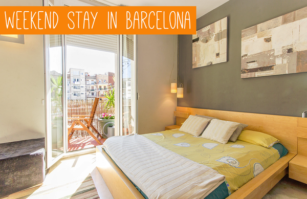 Blogging assignment: Stay in Barcelona for a weekend and blog about your experience