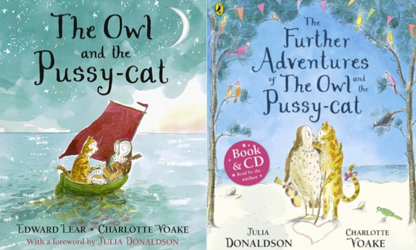 Blogging assignment: Book review and competition - The Owl and the Pussy-cat / The Further Adventures of the Owl and the Pussy-cat (UK bloggers)