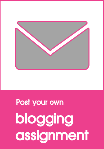 Post your own blogging assignment