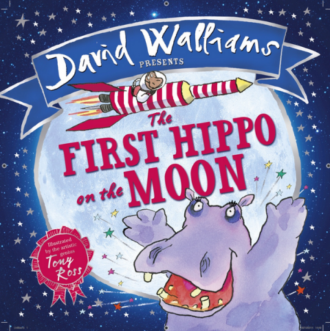 Blogging assignment: The First Hippo on the Moon by David Walliams – book review and competition (UK bloggers)