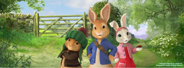 Blogging assignment: Peter Rabbit animated series - book reviews and competitions (UK bloggers)