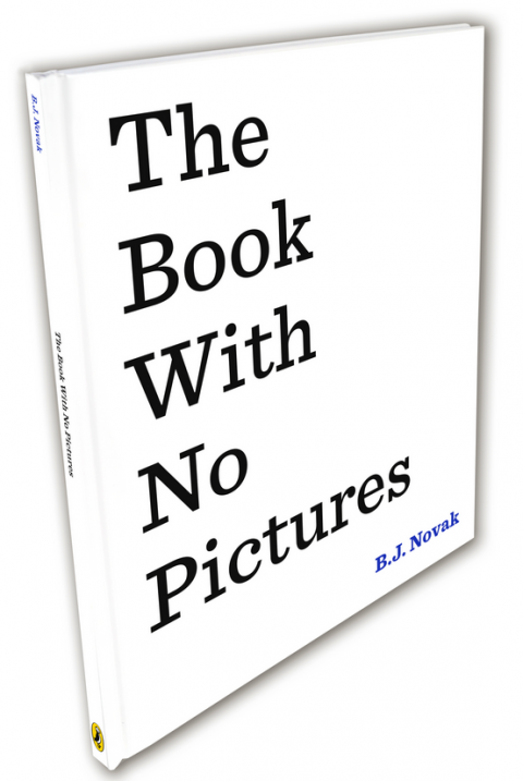 Blogging assignment: The Book With No Pictures by B.J. Novak – EXCLUSIVE review and competition (UK bloggers)