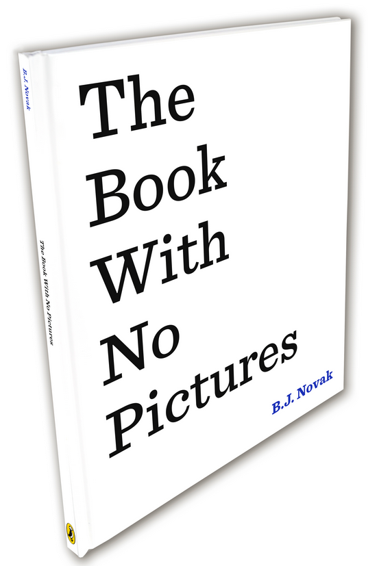 Blogging assignment: The Book With No Pictures by B.J. Novak - EXCLUSIVE review and competition (UK bloggers)