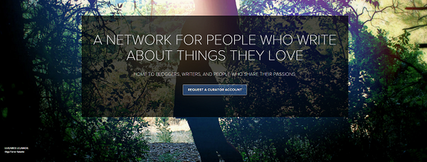 Blogging assignment: New platform for writers and bloggers | Fluence Beta invitation