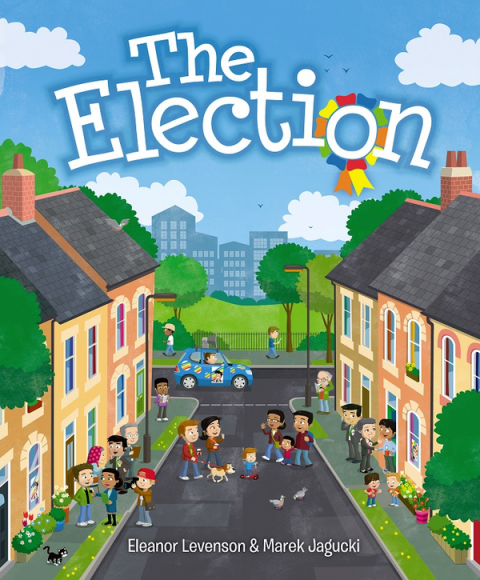 Blogging assignment: Review (with giveaway) first ever story book for preschoolers explaining voting and democracy (UK bloggers)