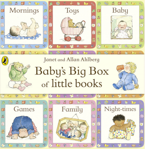 Blogging assignment: Review of Allan & Janet Ahlberg's Baby's Big Box of Little Books (UK bloggers)