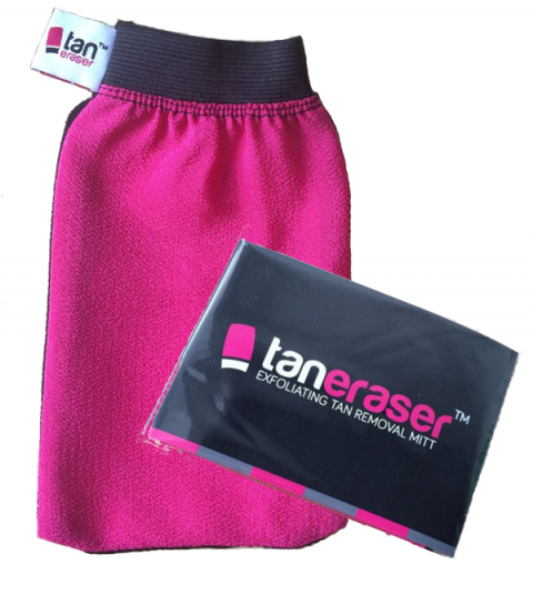 Blogging assignment: Review our new Tan Eraser exfoliating tan removal mitt! (Worldwide bloggers)