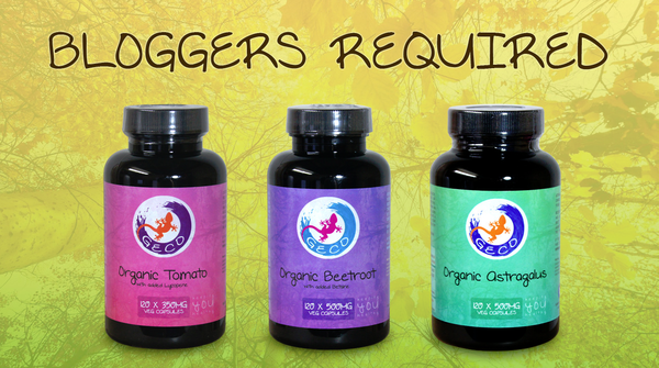 Blogging assignment: UK Bloggers: Review one of our natural and organic health products!