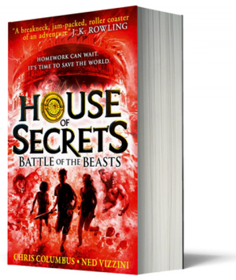 Blogging assignment: House of Secrets Book 2 – Battle of the Beasts – Book Review (UK bloggers)