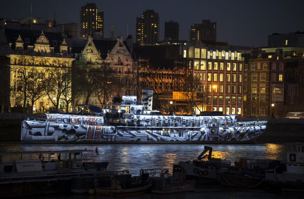 Blogging assignment: Drinks reception on board bedazzled HMS President with arts & history talks (UK/London bloggers)