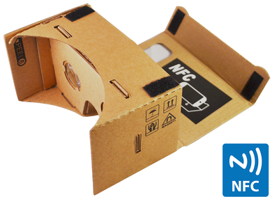 Blogging assignment: Google Cardboard Virtual Reality Headset Testing / Review (UK bloggers)